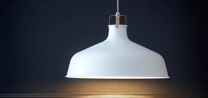 Gammel nyhed fra IKEA: Ranarp lamper - detydre.dk