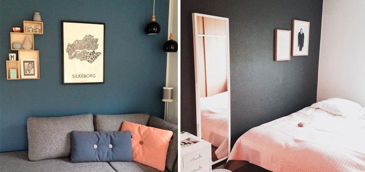 Inspiration fra Instagram: Farvel til hvide vægge! - detydre.dk