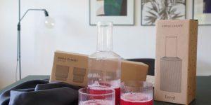 Ripple glas - en elegant nyhed fra Ferm Living