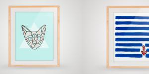 Gratis plakater til din billedvæg