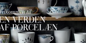 Royal Copenhagen 2014: Nyheder i sort og blå