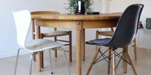 Renovering af et rundt spisebord - med hjælp fra Ataman Træværk